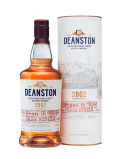 Deanston Organic Oloroso Cask Finish Highland Single Malt Scotch