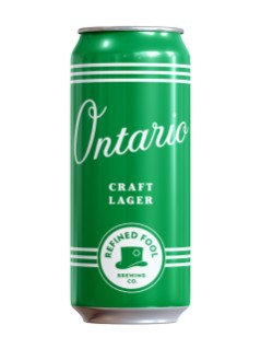 Refined Fool, Ontario, Craft Lager