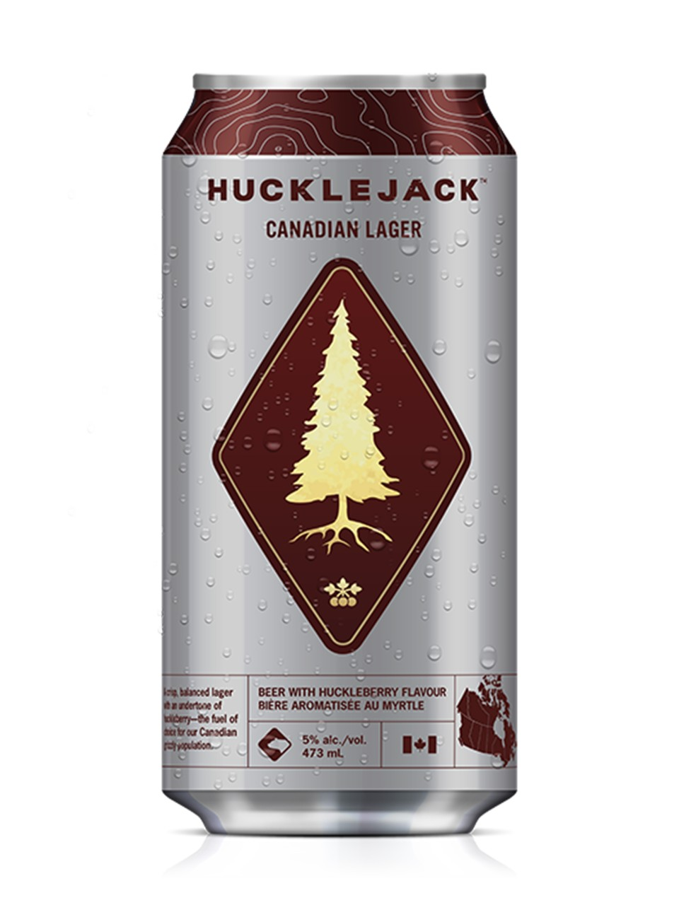 Hucklejack Canadian Lager from LCBO