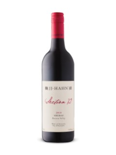 JJ Hahn Section 72 Shiraz 2018