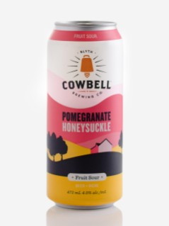 Cowbell Brewing Pomegranate Honeysuckle Fruit Sour