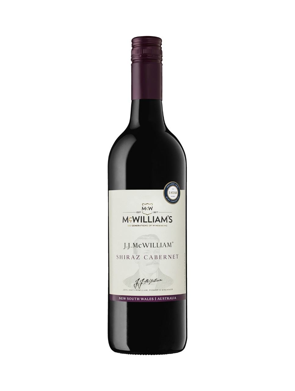 Image for JJ McWilliam Shiraz Cabernet from LCBO