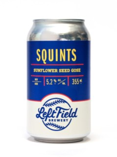 Left Field Brewery Squints Sunflower Seed Gose