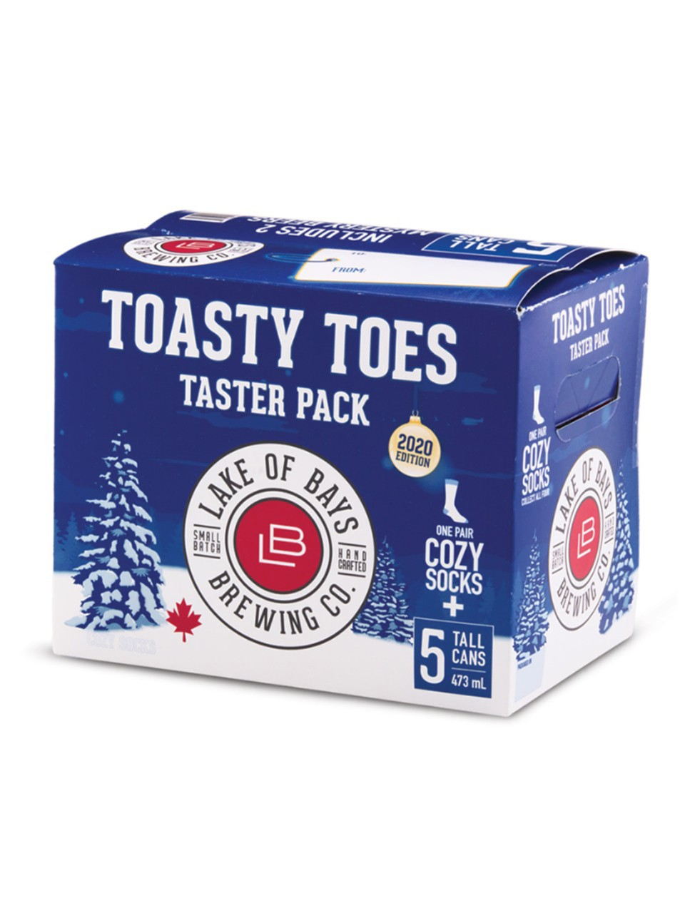 Lake Of Bays Toasty Toes Taster Pack from LCBO