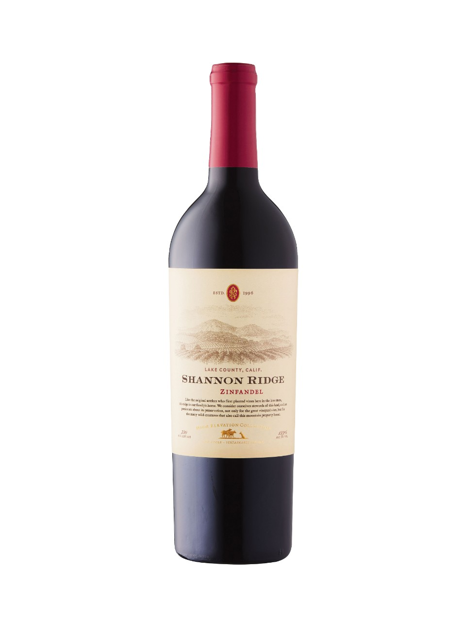 Shannon Ridge High Elevation Collection Zinfandel 2018 from LCBO