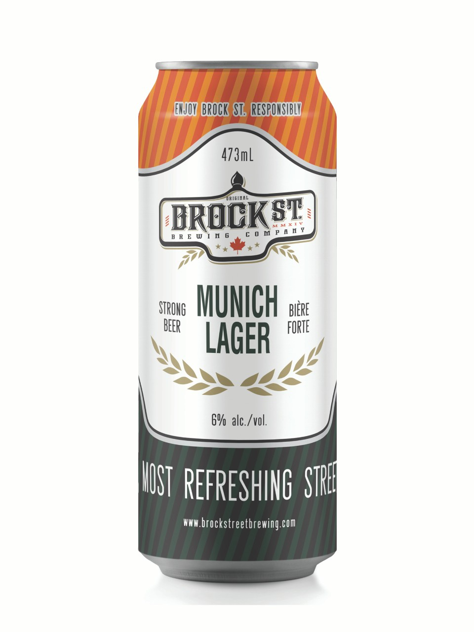 Brock Street Brewing Munich Lager from LCBO