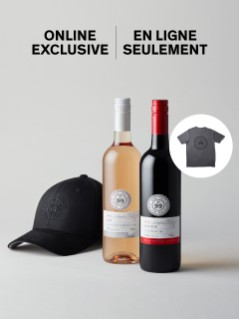 Wayne Gretzky Baco Noir & Rose (6x750 mL) Gift Offer + Branded T-Shirt and hat
