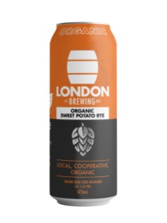London Brewing Organic Sweet Potatoe Rye