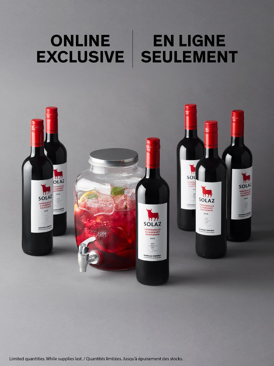 Osborne Solaz Tempranillo Cabernet Offer from LCBO