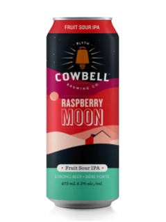 Cowbell Brewing Raspberry Moon Fruit Sour IPA