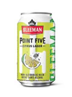 Sleeman Point Five Citrus Lager