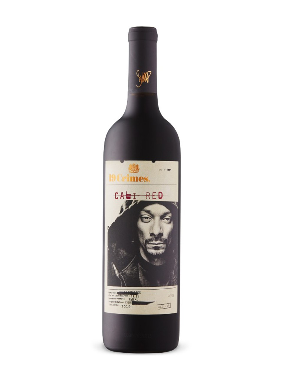 19 Crimes Snoop Dogg Cali Red from LCBO