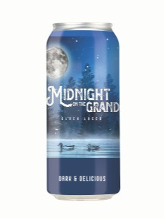 Grand River Brewing Midnight on the Grand Black Lager