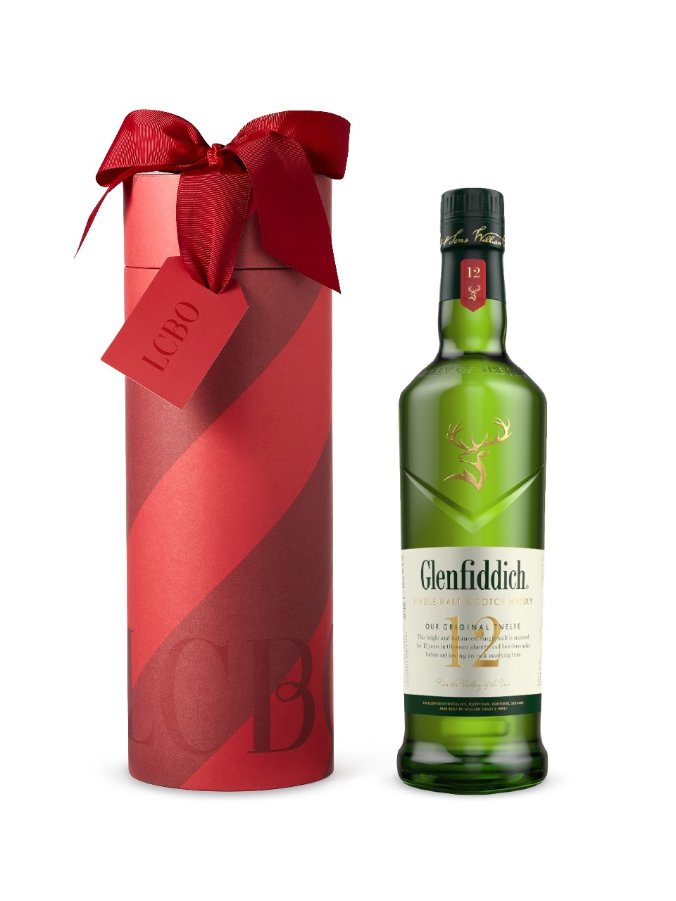 Glenfiddich 12 Year Old Single Malt Scotch Whisky in Gift Box from LCBO