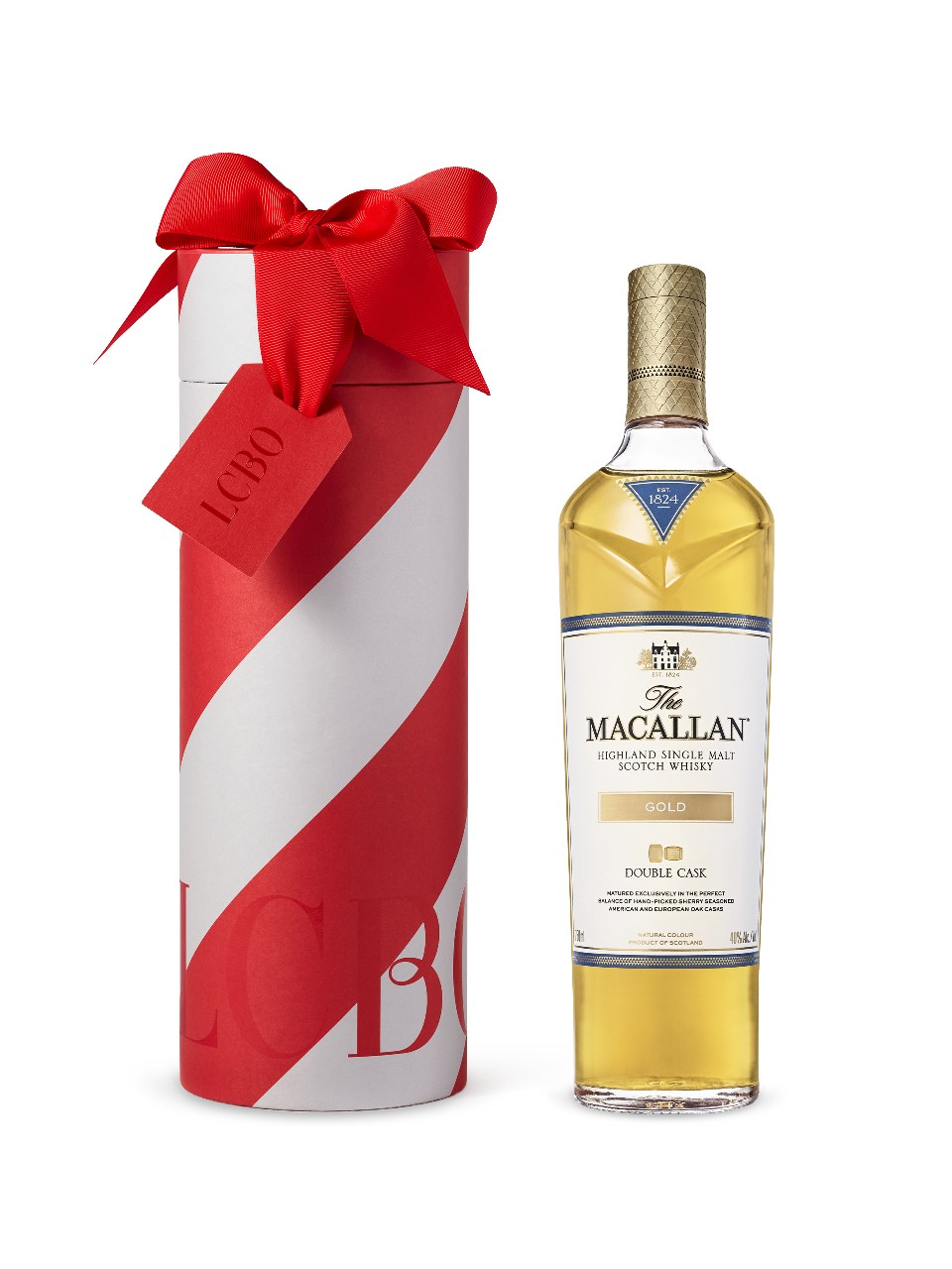 Macallan Gold Highlands Single Malt Scotch Whisky in Gift Box from LCBO