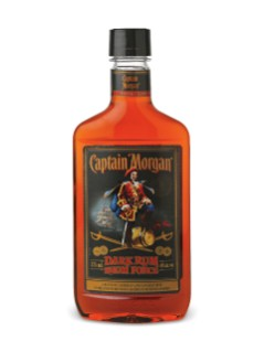 Rhum brun Captain Morgan (PET)