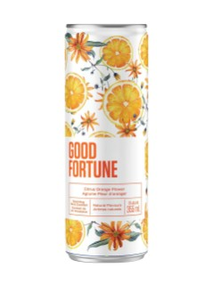 Good Fortune Citrus Orange Flower Sparkling Flavoured Wine Beverage