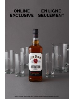 Jim Beam With Cocktail Jug Online Exclusive