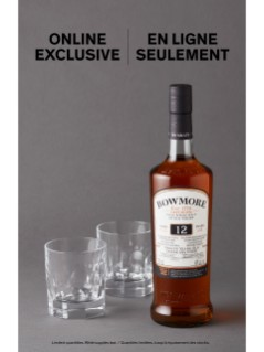 Bowmore 12 YO With Aston Martin Glasses Online Exclusive
