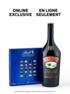 Baileys Original With Lindt Chocolates Online Exclusive
