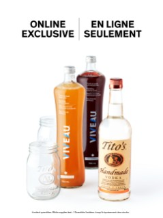 Tito's Handmade Vodka Sparkling Kit Online Exclusive