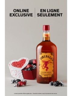 Fireball With Laura Secord Chocolates Online Exclusive