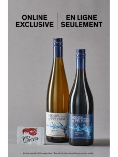 Offre de vins Henry of Pelham + carte-cadeau Red Lobster de 25 $ GRATUITE