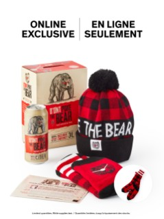 D'Ont Poke The Bear Offer + Free Toque & Socks
