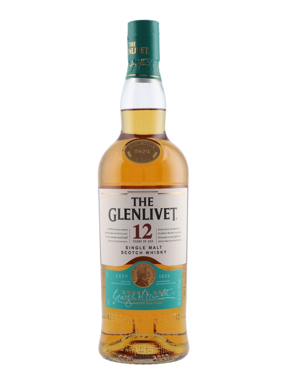 Whisky écossais Single Malt The Glenlivet 12 ans d'âge