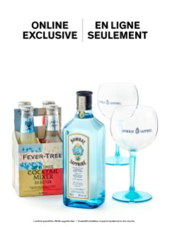 Bombay Sapphire Gin & Tonic Cocktail Kit