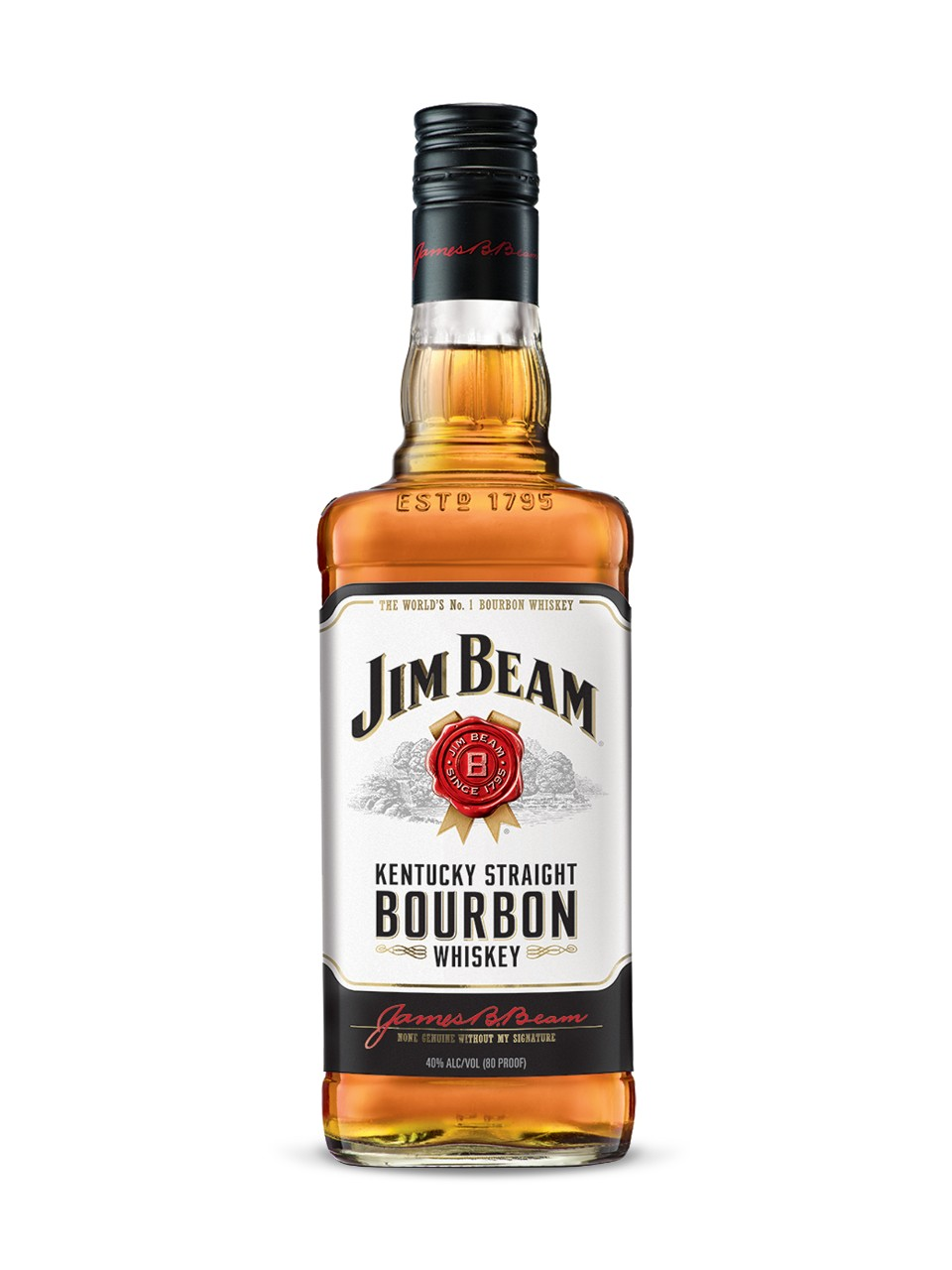 Image for Jim Beam White Label Bourbon from LCBO