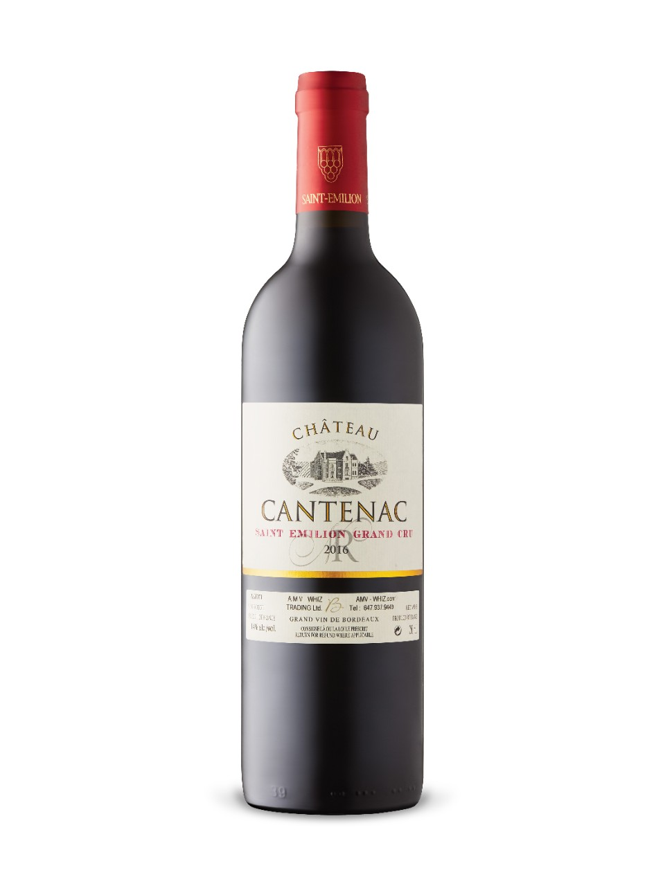 Image for Château Cantenac 2014 from LCBO