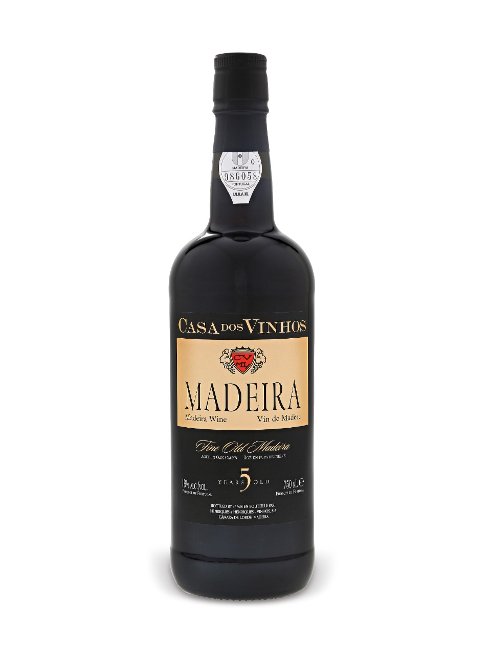 Image for Casa Dos Vinhos 5 Years Old Madeira from LCBO