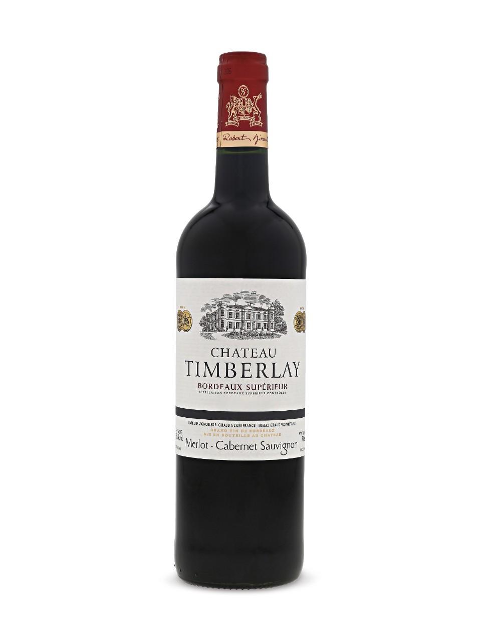 Chateau Timberlay Bordeaux Superieur Aoc Lcbo