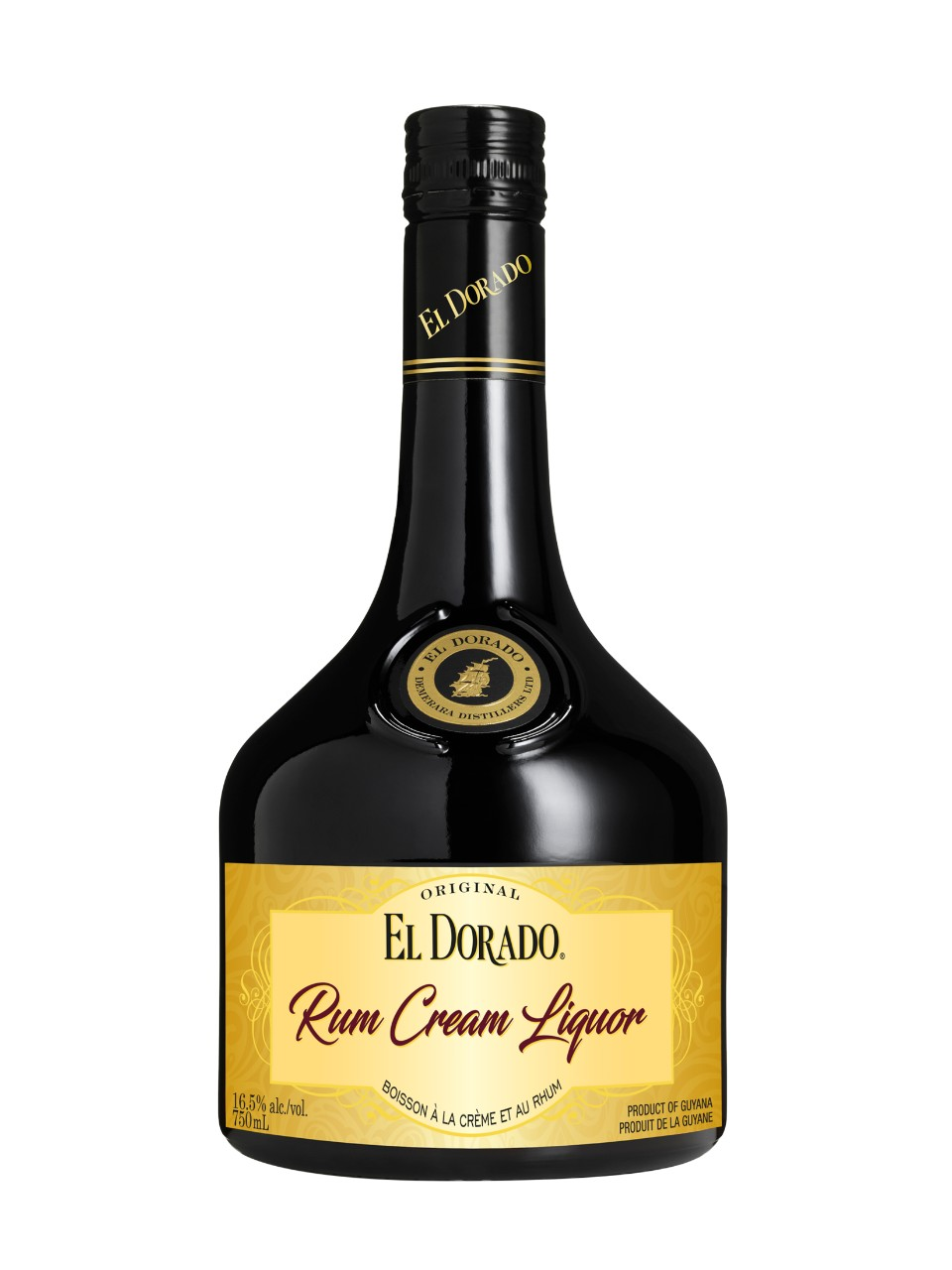 Image for El Dorado Golden Rum Cream Liquor from LCBO