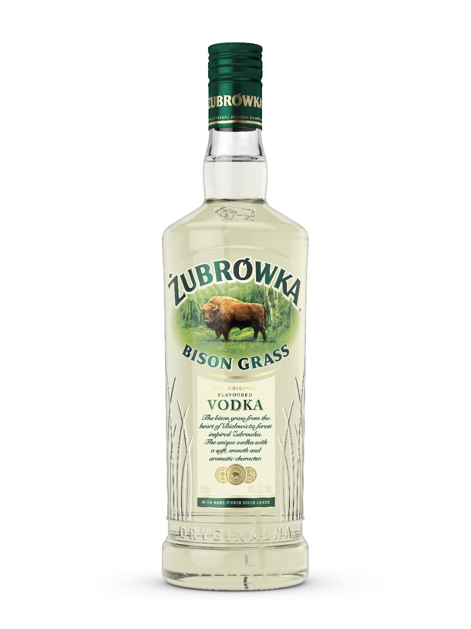 Image for Zubrowka Bison Vodka from LCBO
