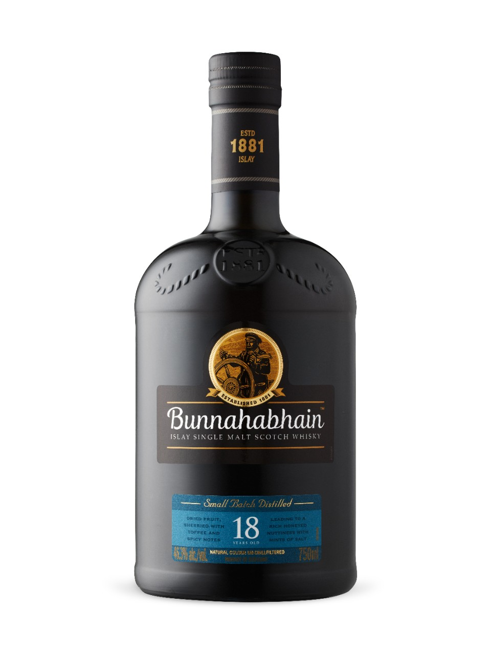 Image for Bunnahabhain Small Batch Distilled 18-Year-Old Islay Single Malt Scotch Whisky from LCBO