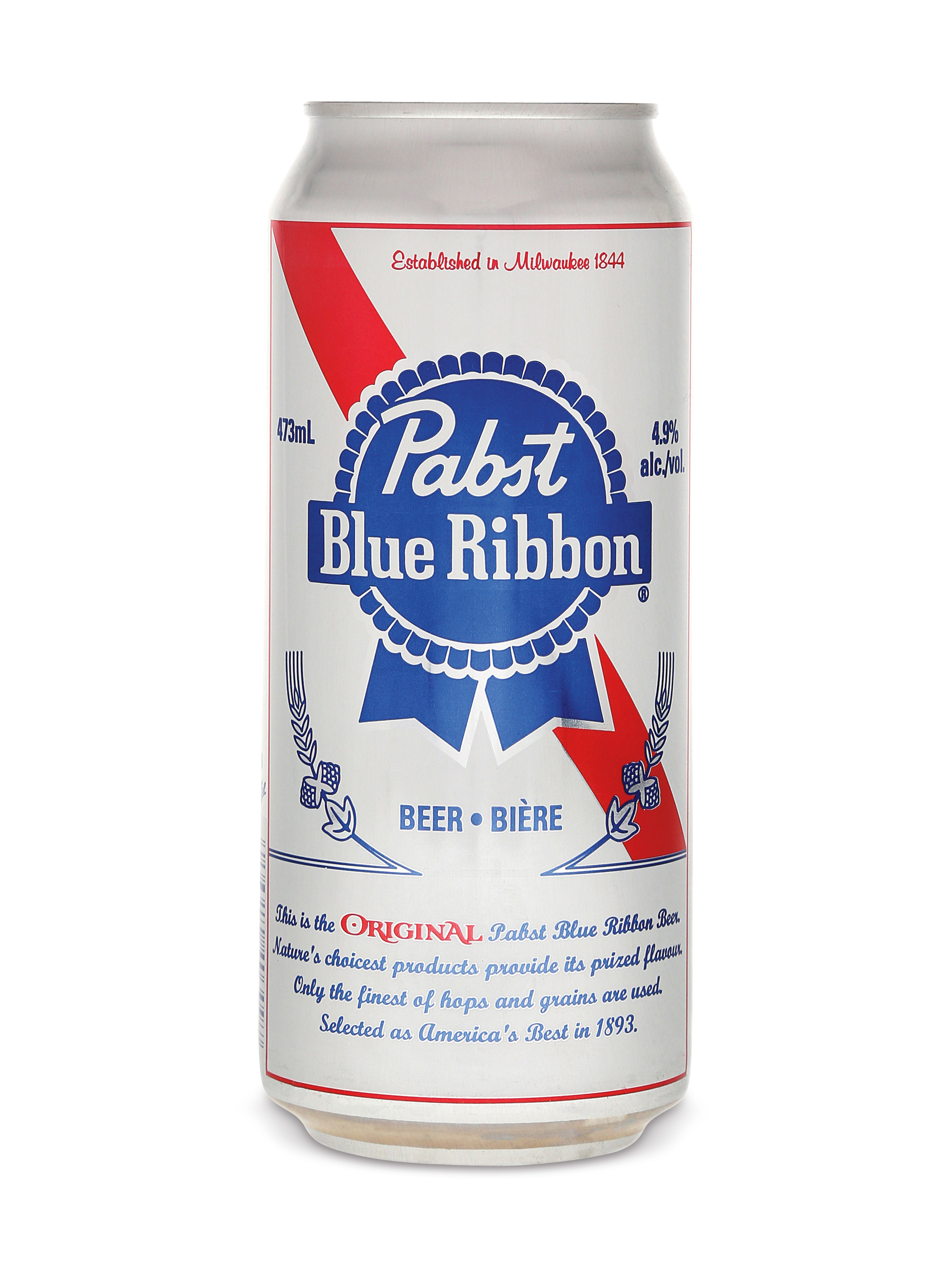 Pabst Blue Ribbon  Pabst Blue Ribbon Tall Can