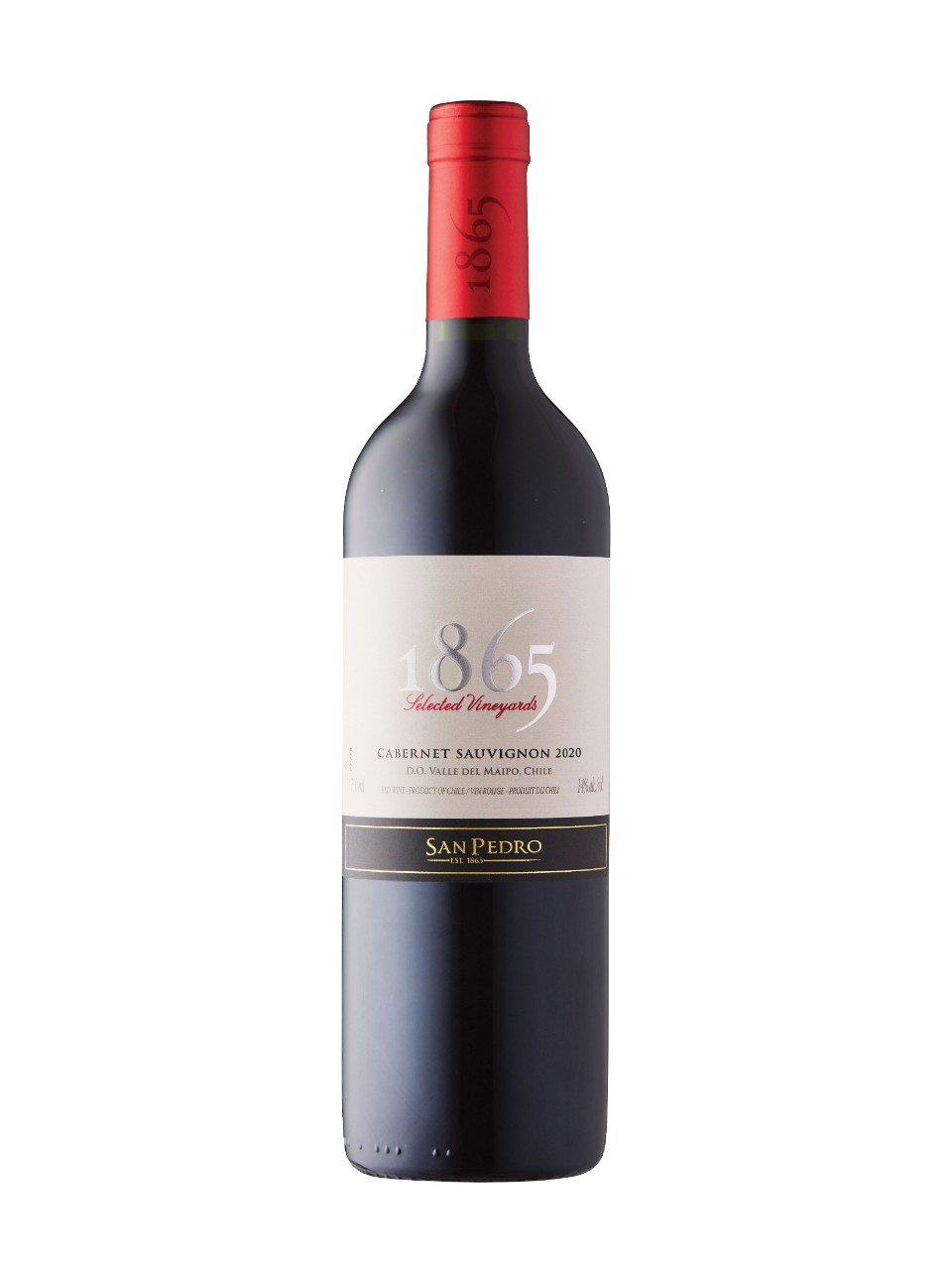 Image for San Pedro 1865 Selected Vineyards Cabernet Sauvignon 2016 from LCBO