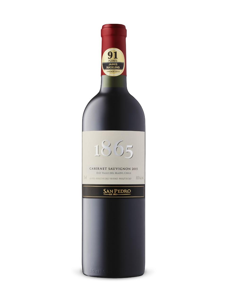 San Pedro 1865 Selected Vineyards Cabernet Sauvignon 2017 Lcbo