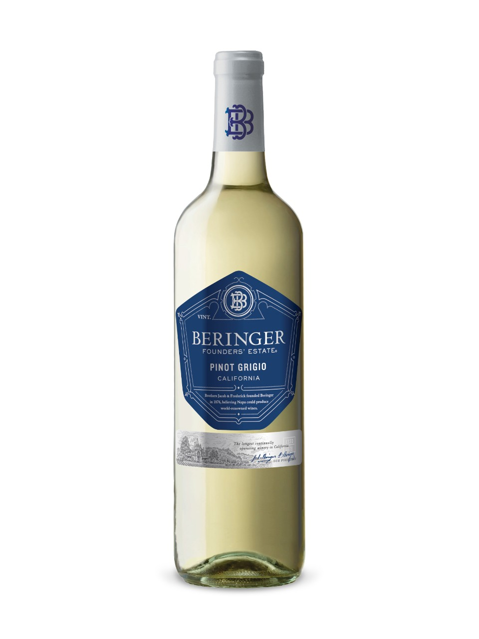 Image for Beringer Founders' Estate Pinot Grigio from LCBO