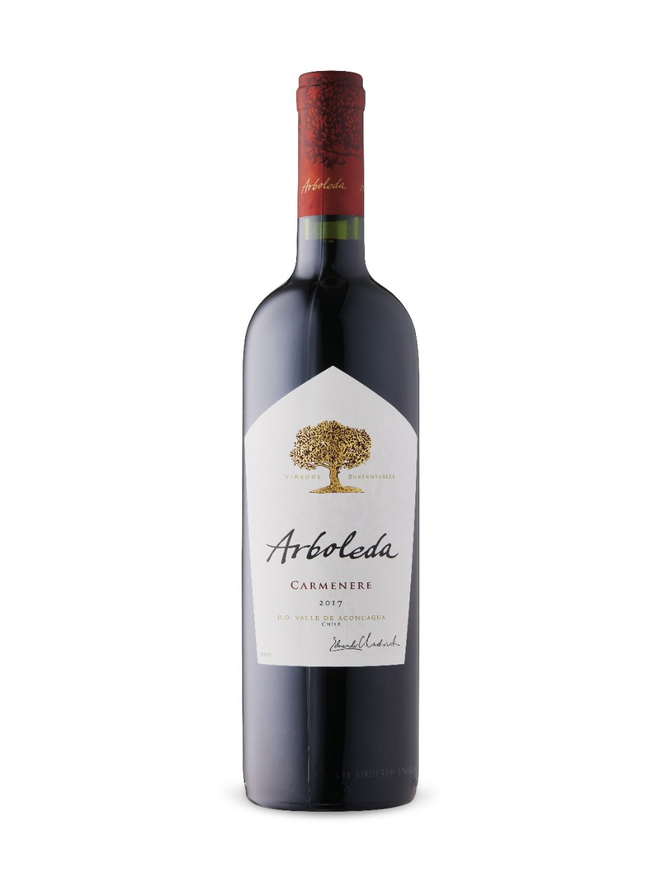 Image for Arboleda Carmenère 2017 from LCBO