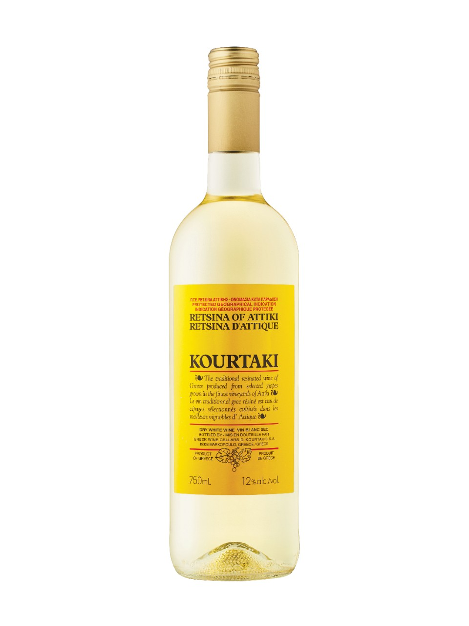 Image for Kourtaki Retsina of Attiki from LCBO