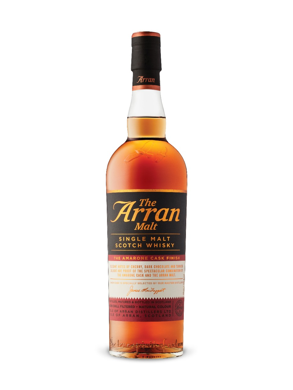 Image for The Arran Malt Amarone Cask Finish Isle of Arran Single Malt from LCBO