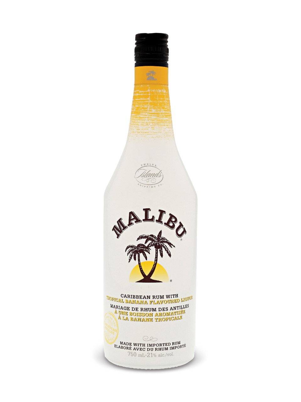 Malibu Tropical Banana Rum Liquor Lcbo