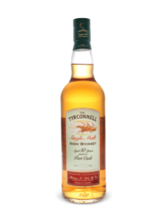Tyrconnell 10 Years Old Port Cask Finish Single Malt Irish Whiskey