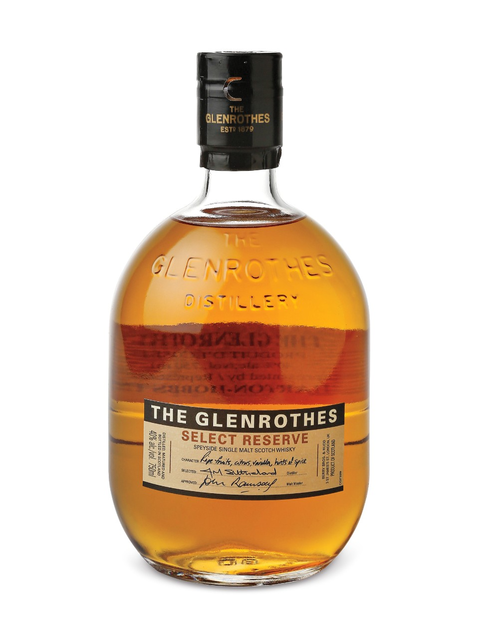 Scotch Whisky Single Malt The Glenrothes Select Reserve