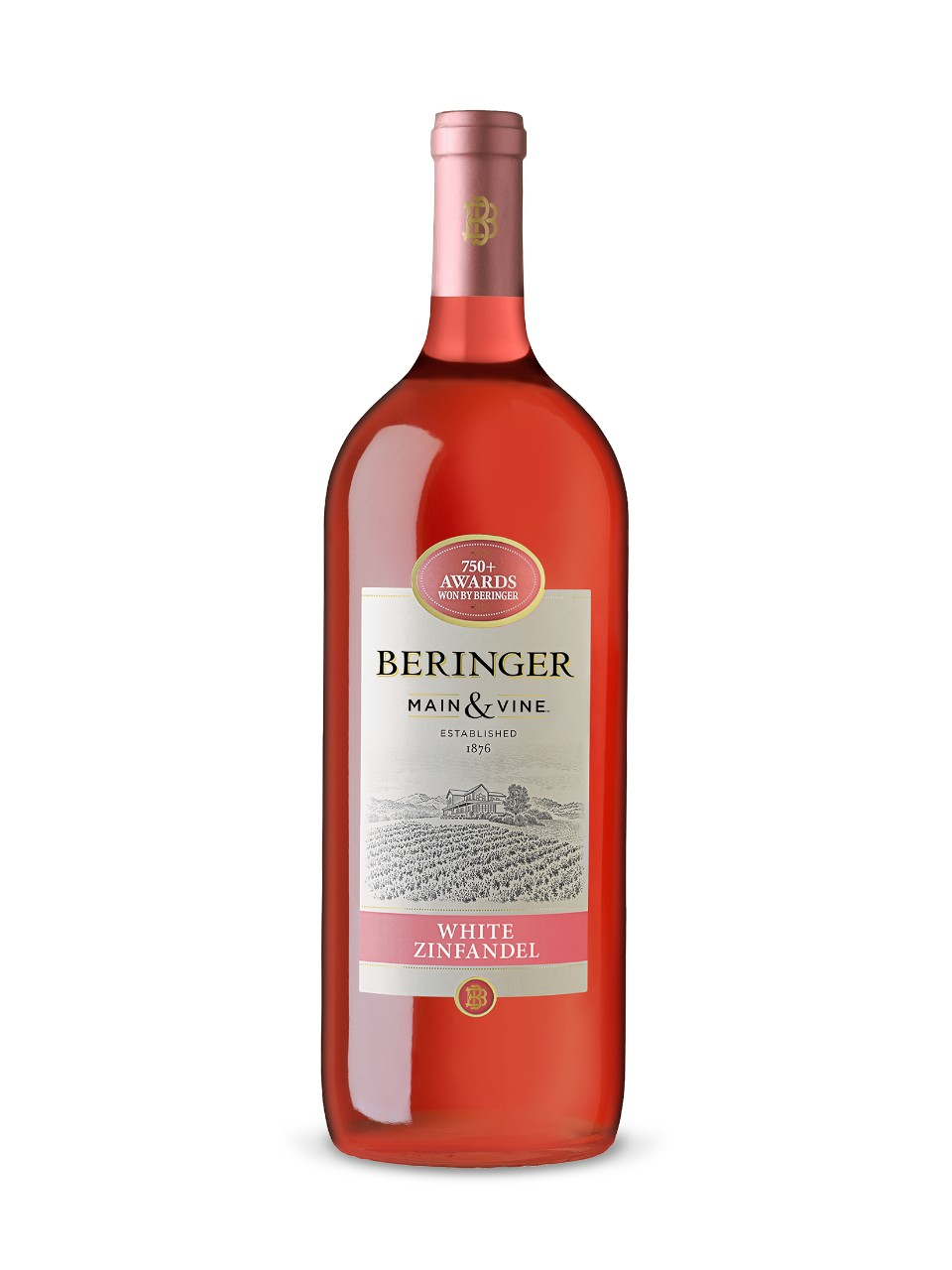 Image for Beringer Main & Vine White Zinfandel from LCBO
