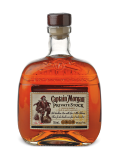 Rhum Captain Morgan Private Stock