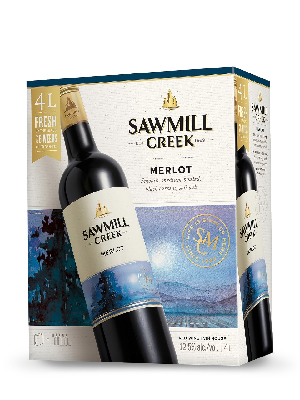Image for Sawmill Creek Merlot from LCBO